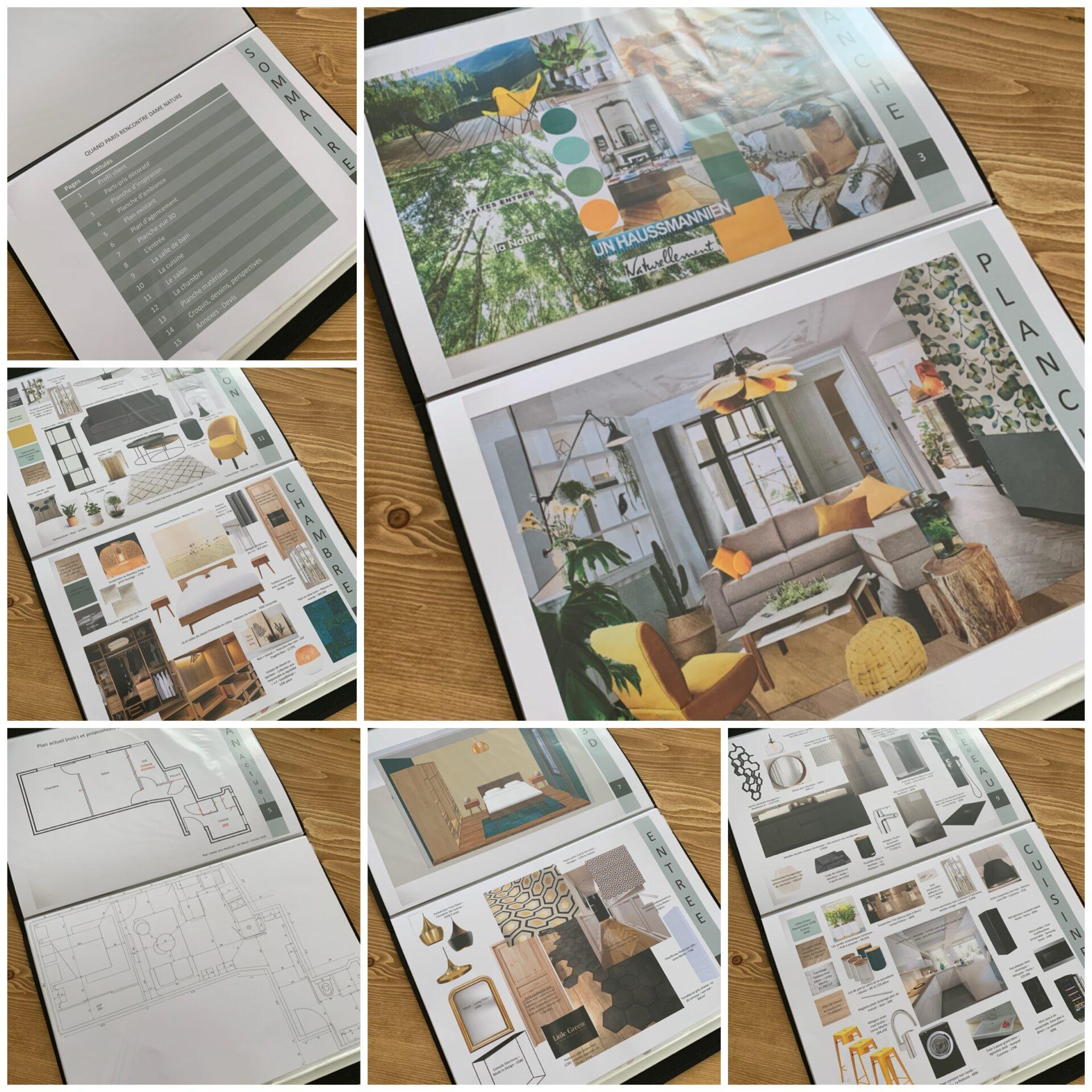 Book Déco pour un appartement à Paris