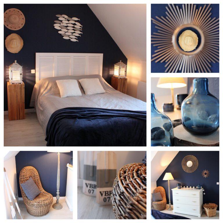 Décoration intérieure de chambres d'hôtes par BULLES & COCON